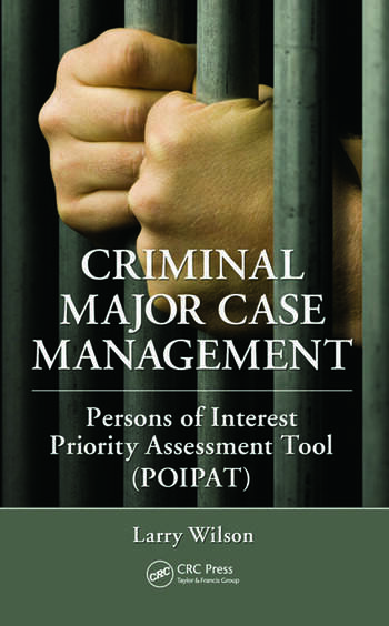 Criminal Major Case Management Persons of Interest Priority Assessment Tool (POIPAT) book cover