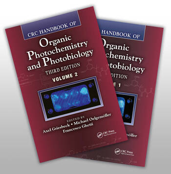 CRC Handbook of Organic Photochemistry and Photobiology, Third Edition - Two Volume Set book cover