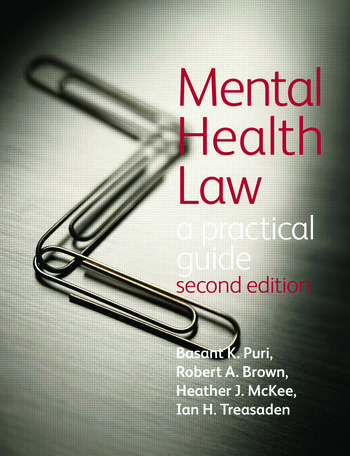 Mental Health Law 2E A Practical Guide book cover