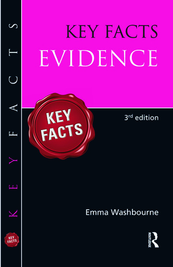 Key Facts Evidence book cover