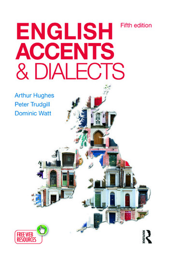 English Accents and Dialects An Introduction to Social and Regional Varieties of English in the British Isles, Fifth Edition book cover
