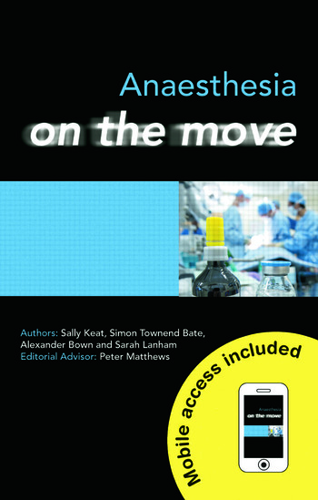Anaesthesia on the Move book cover