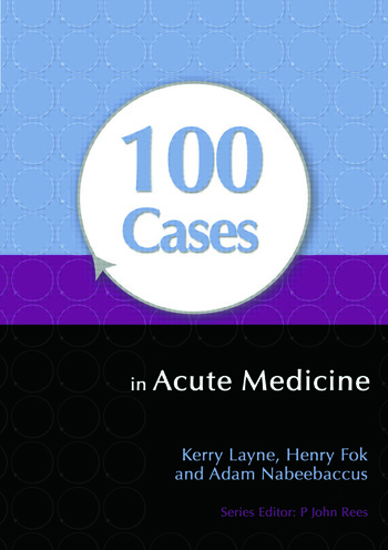 100 Cases in Acute Medicine book cover