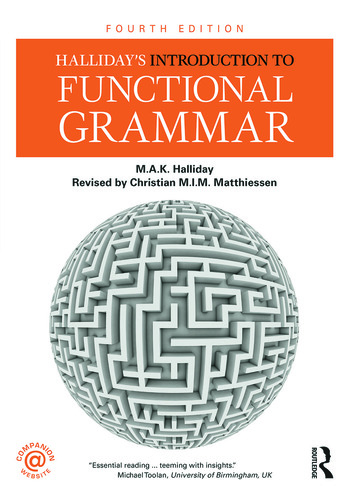 Halliday's Introduction to Functional Grammar book cover