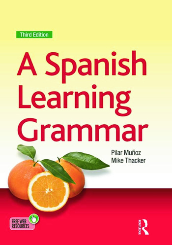 A Spanish Learning Grammar book cover