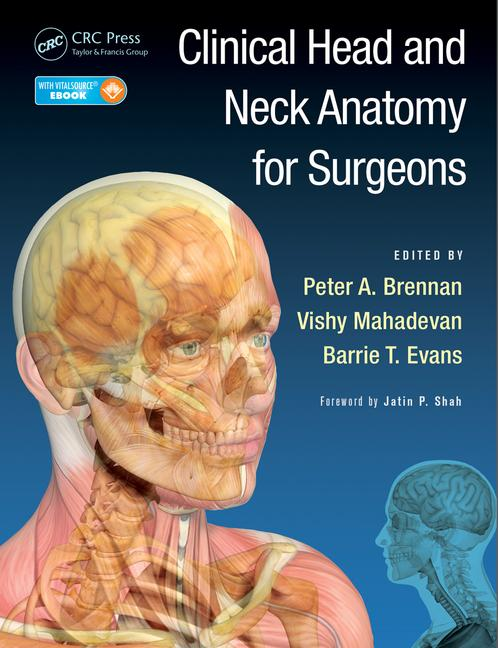 Clinical Head and Neck Anatomy for Surgeons book cover