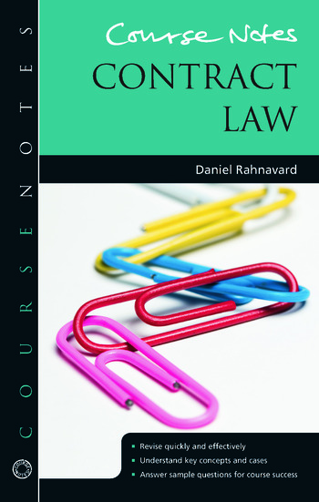 Course Notes: Contract Law book cover