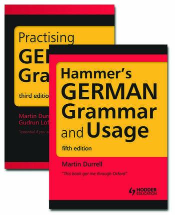 German Grammar Pack book cover
