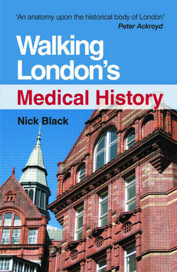 Walking London's Medical History Second Edition book cover