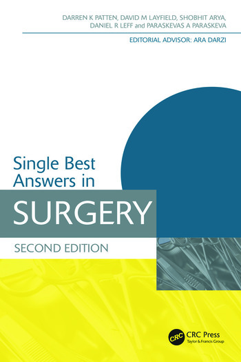 Single Best Answers in Surgery book cover