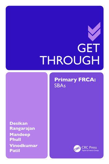 Get Through Primary FRCA: SBAs book cover