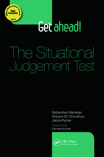 Get ahead! The Situational Judgement Test book cover