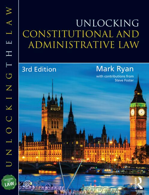Unlocking Constitutional and Administrative Law book cover