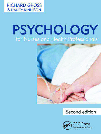 Psychology for Nurses and Health Professionals book cover