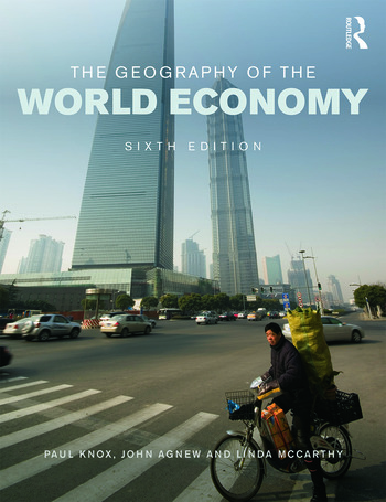 The Geography of the World Economy book cover
