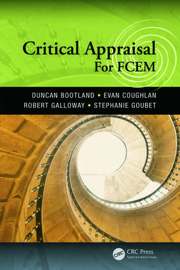 Critical Appraisal for FCEM book cover