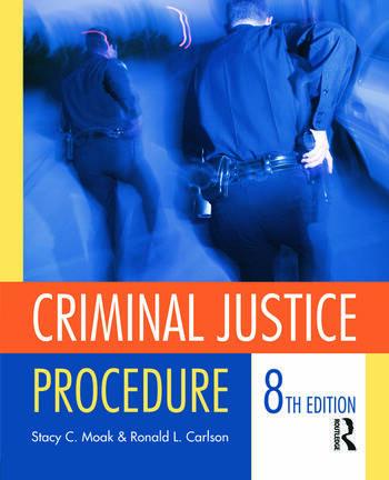 Criminal Justice Procedure book cover
