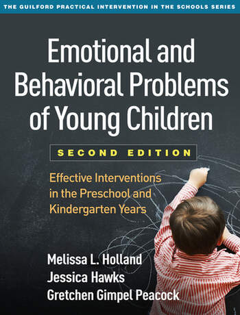 Emotional and Behavioral Problems of Young Children, Second Edition Effective Interventions in the Preschool and Kindergarten Years book cover