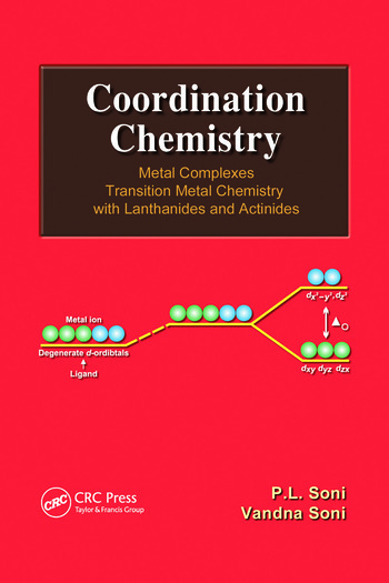 Coordination Chemistry Metal Complexes book cover
