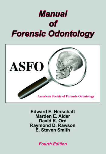 Manual of Forensic Odontology book cover