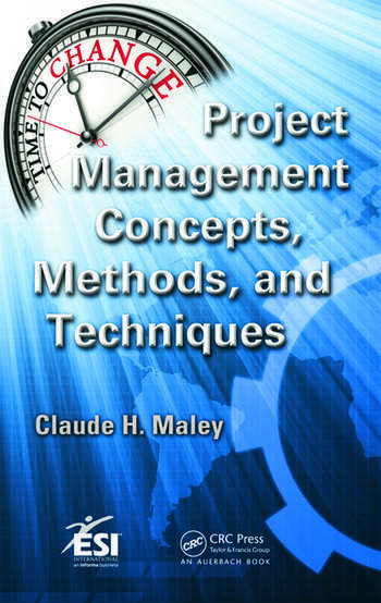 Project Management Concepts, Methods, and Techniques book cover