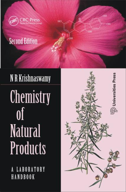 Chemistry of Natural Products A Laboratory Handbook book cover