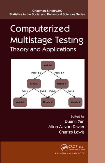 Computerized Multistage Testing Theory and Applications book cover