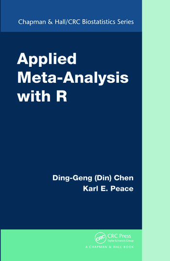 Applied Meta-Analysis with R book cover
