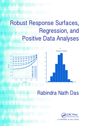 Robust Response Surfaces, Regression, and Positive Data Analyses book cover