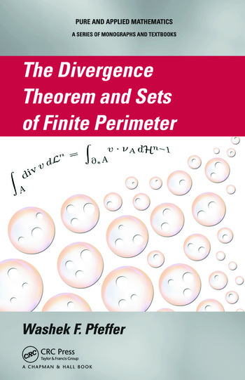 The Divergence Theorem and Sets of Finite Perimeter book cover