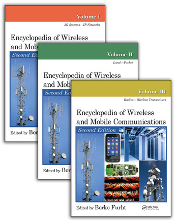 Encyclopedia of Wireless and Mobile Communications, Second Edition - Three Volume Set (Print Version) book cover