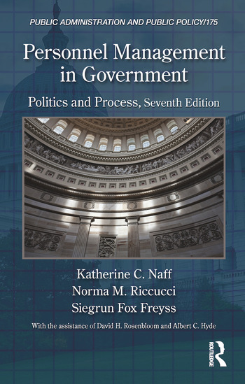 Personnel Management in Government Politics and Process, Seventh Edition book cover