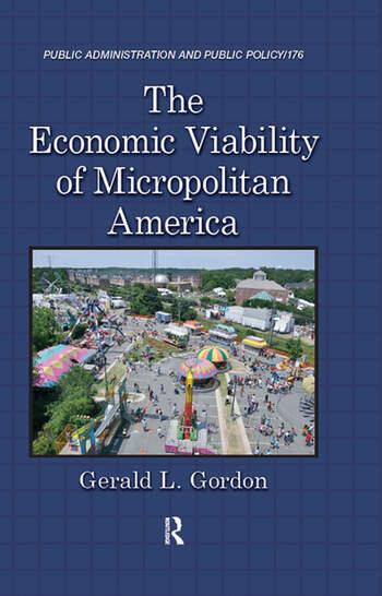The Economic Viability of Micropolitan America book cover