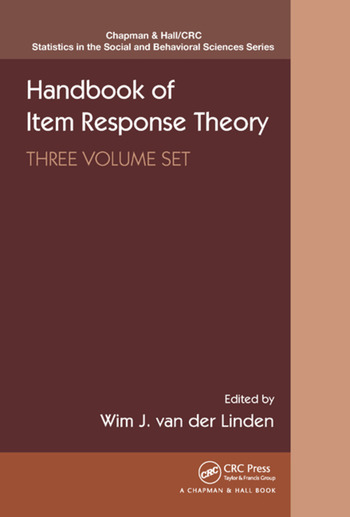 Handbook of Item Response Theory, Three Volume Set book cover