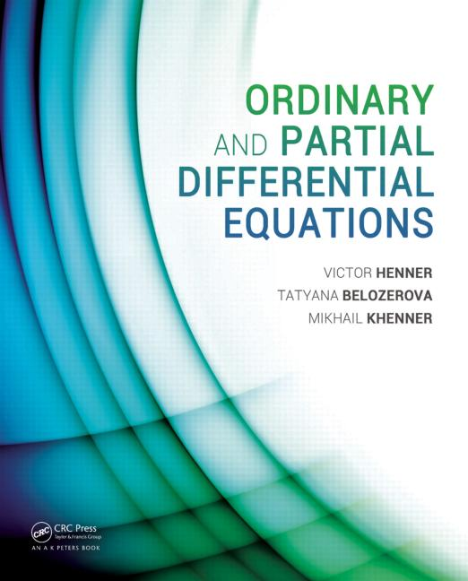Ordinary and Partial Differential Equations book cover