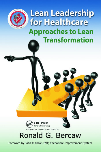 Lean Leadership for Healthcare Approaches to Lean Transformation book cover