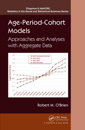 Age-Period-Cohort Models Approaches and Analyses with Aggregate Data book cover