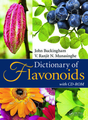 Dictionary of Flavonoids with CD-ROM book cover