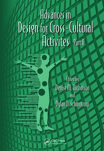 Advances in Design for Cross-Cultural Activities Part II book cover