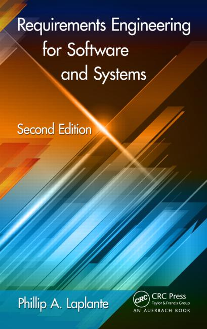 Requirements Engineering for Software and Systems, Second Edition book cover