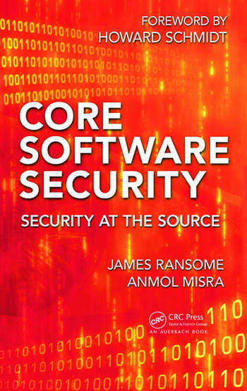 Core Software Security Security at the Source book cover