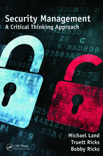 Security Management A Critical Thinking Approach book cover
