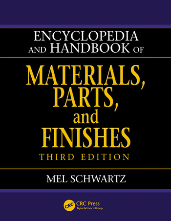Encyclopedia and Handbook of Materials, Parts and Finishes book cover