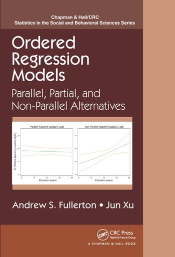 Ordered Regression Models Parallel, Partial, and Non-Parallel Alternatives book cover
