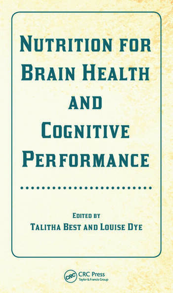 Nutrition for Brain Health and Cognitive Performance book cover