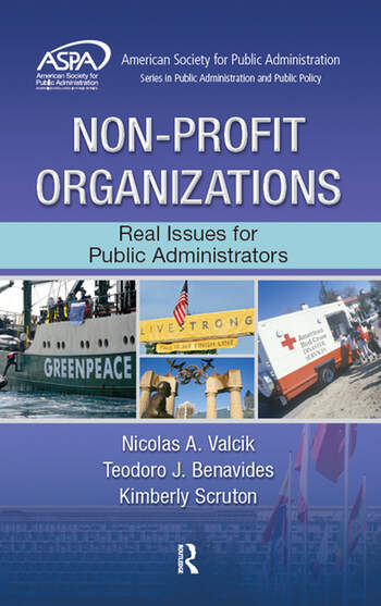 Non-Profit Organizations Real Issues for Public Administrators book cover