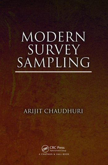 Modern Survey Sampling book cover