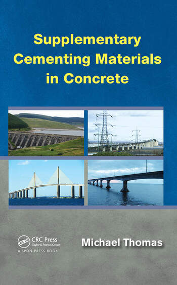 Supplementary Cementing Materials in Concrete book cover