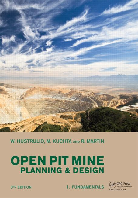 Open Pit Mine Planning and Design, Two Volume Set & CD-ROM Pack book cover