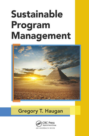 Sustainable Program Management book cover